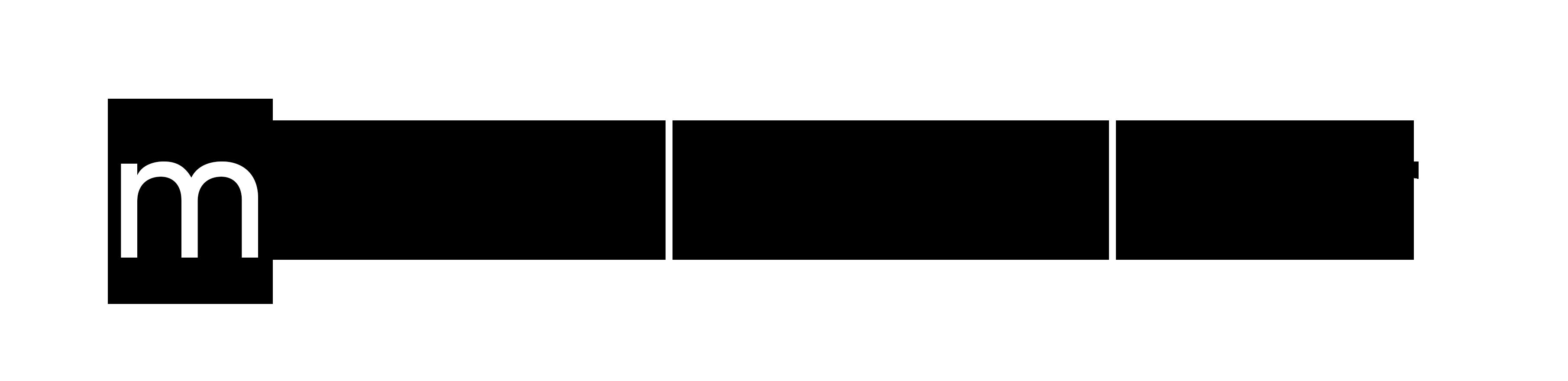 medienbunker logo – schwarz